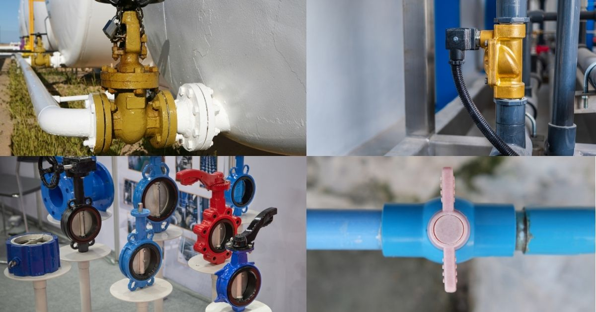 Types of Valves in everyday lives